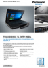 TOUGHBOOK 54 HD Spec Sheet / English