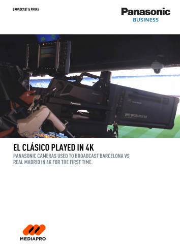 El Clasico played in 4K