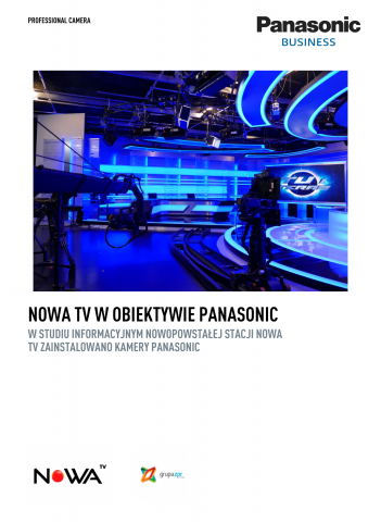 Nowa TV through Panasonic lens