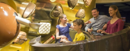 Swiss Chocolate Adventure in het Transportmuseum