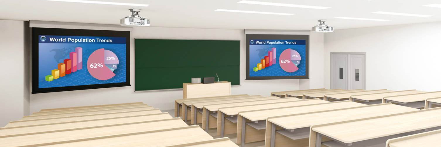 Class Room Education Projection